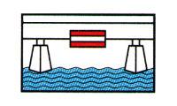 Durchfahrt unter Brücke verboten