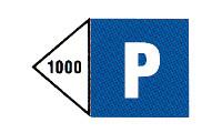 Erlaubnis zum Stillliegen auf 1.000m